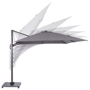 Hawaii parasoll lysegrå