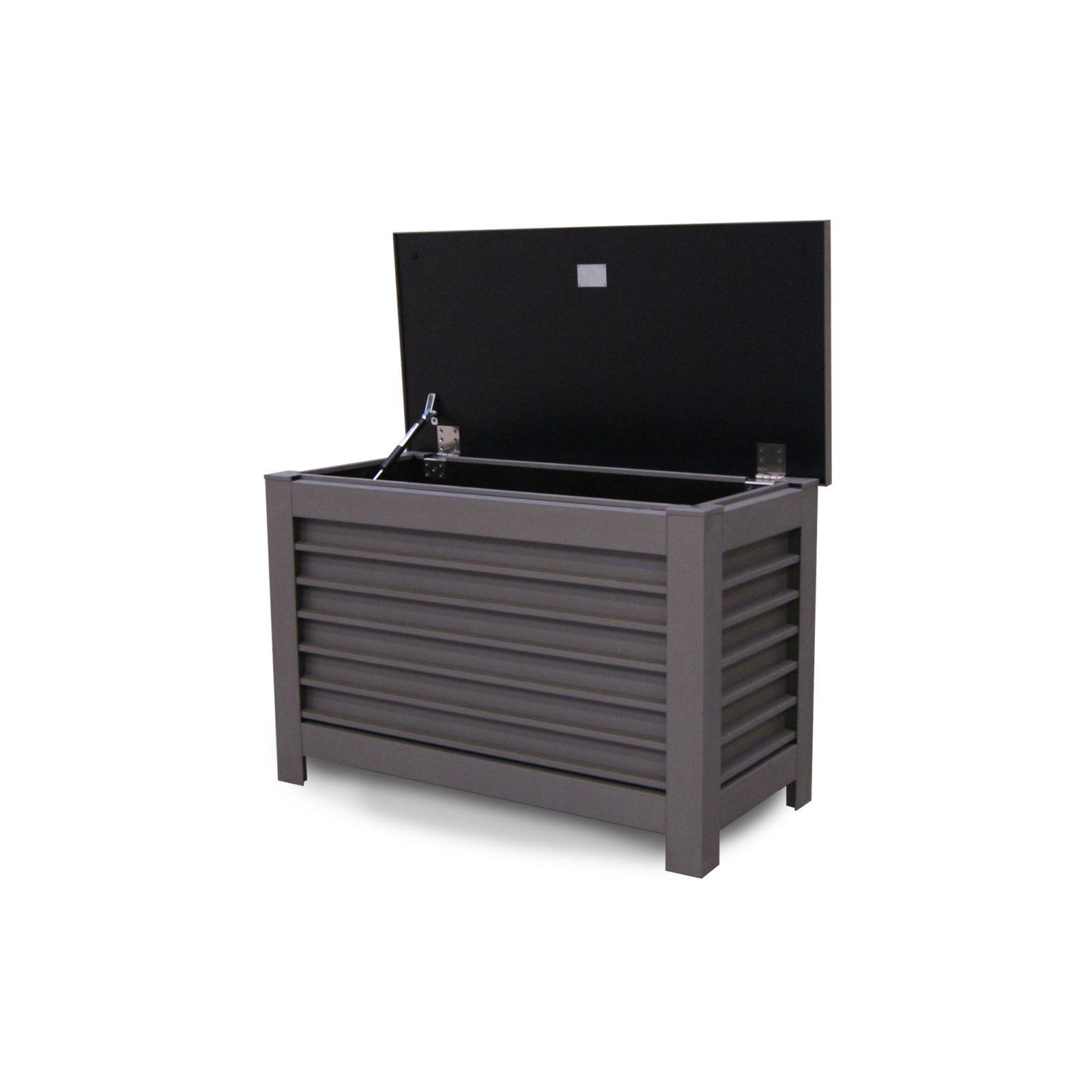Stilig Liten putekasse grå sink - lekker kvalitet og håndverk | Lapatio LV-61
