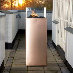 gaspejs høj kobber danskproduceret terrassevarmer
