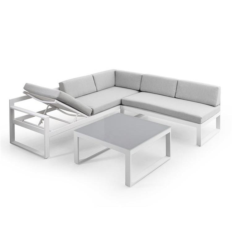 kvalitets aluminium loungesæt