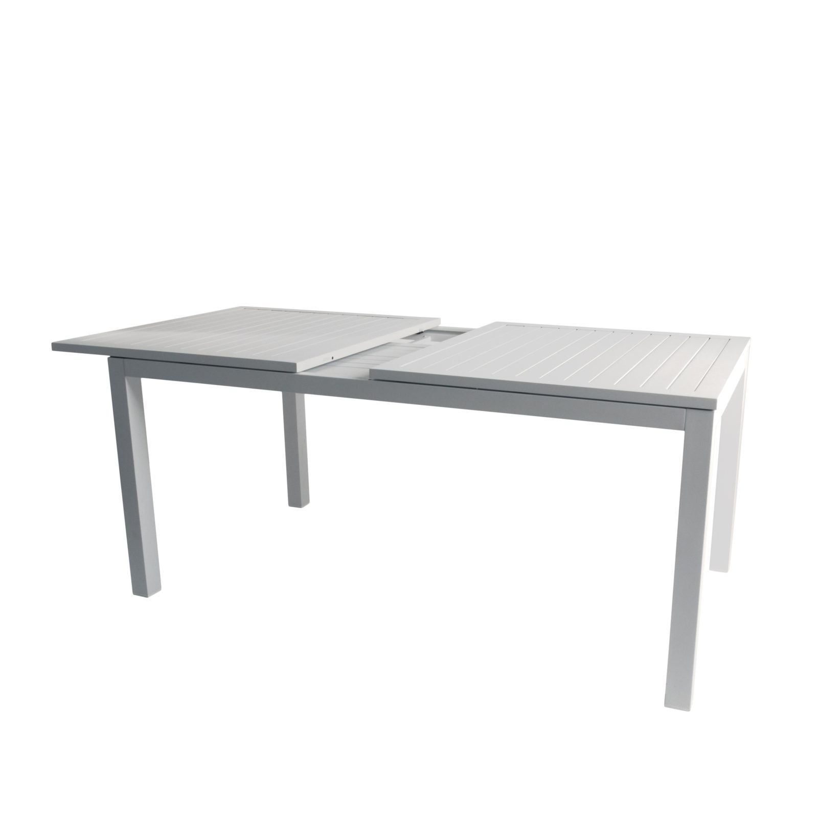 Lafayette udtræksbord aluminium 283x100 cm 65882003