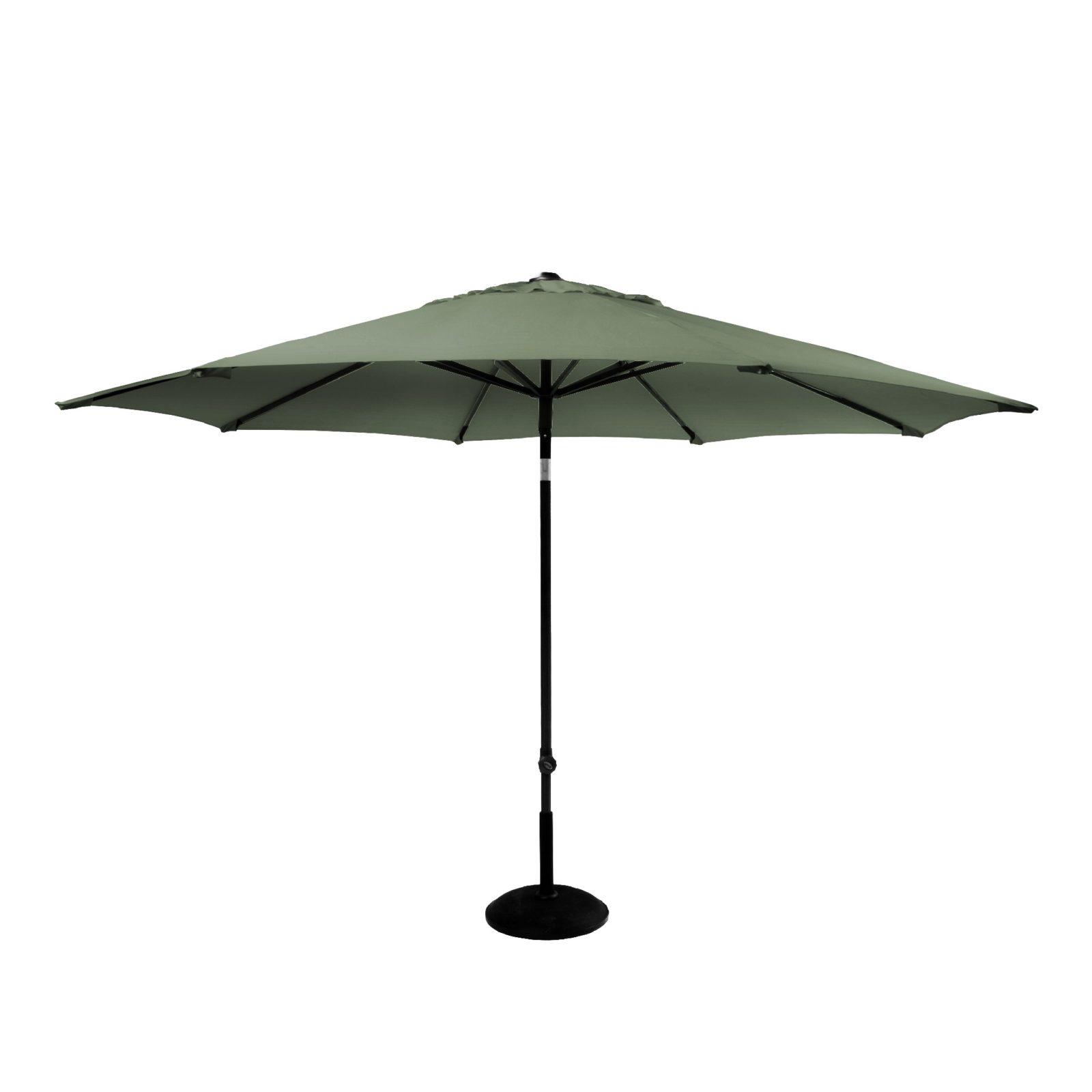 Parasol solarline 300 cm UPF50+ olivengrøn dug 14165052