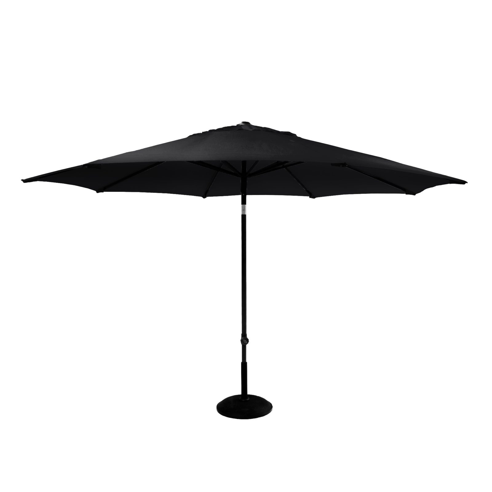 Parasol solarline 300 cm UPF50+ sort dug 14165008