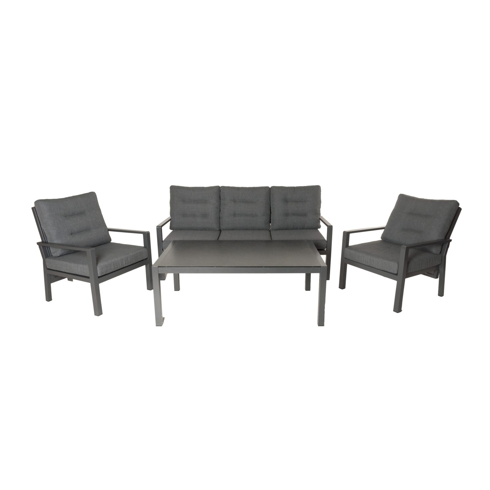 Salina loungesæt 3 per + 2 stole + bordd 21287