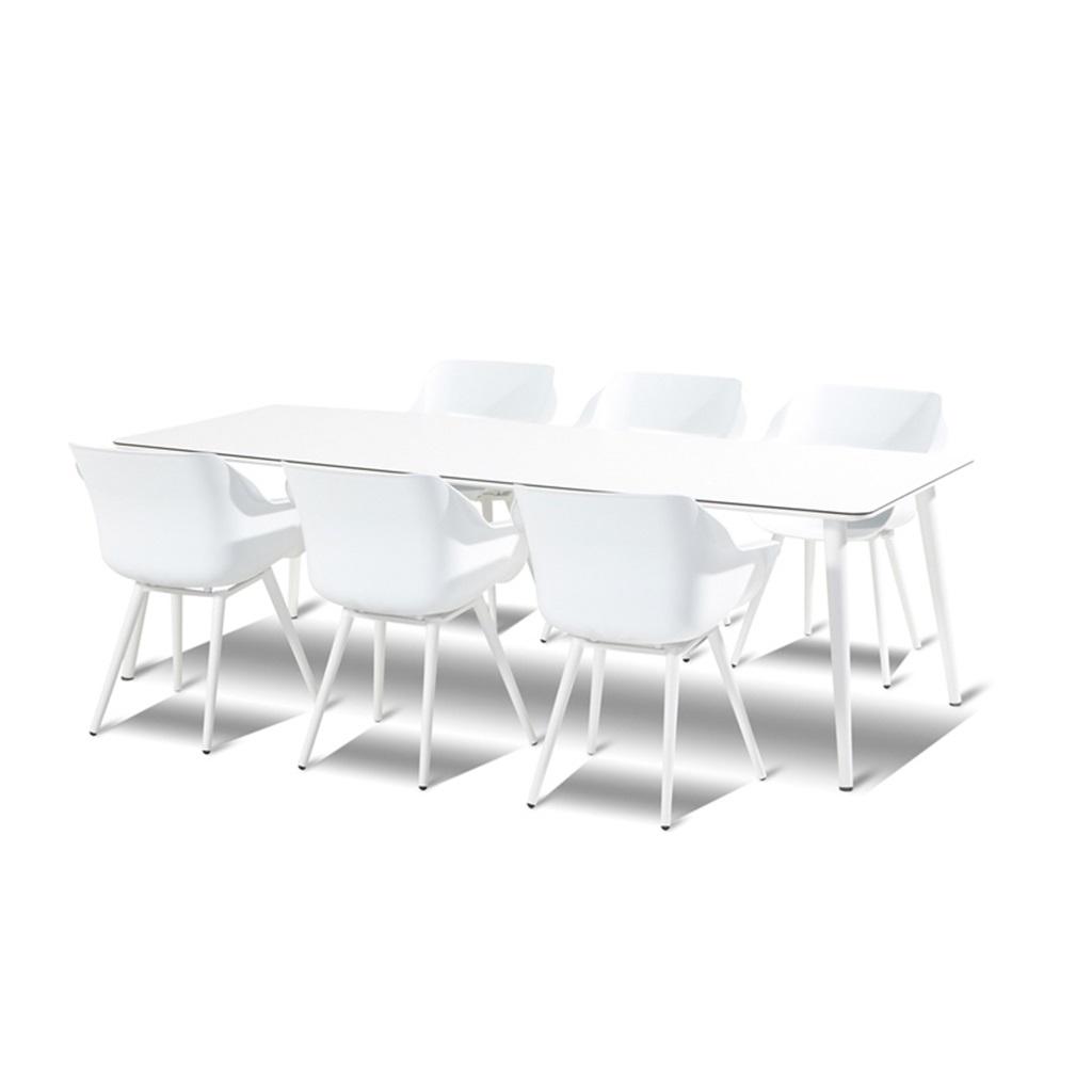 Sophie studio spisegruppe i hvit