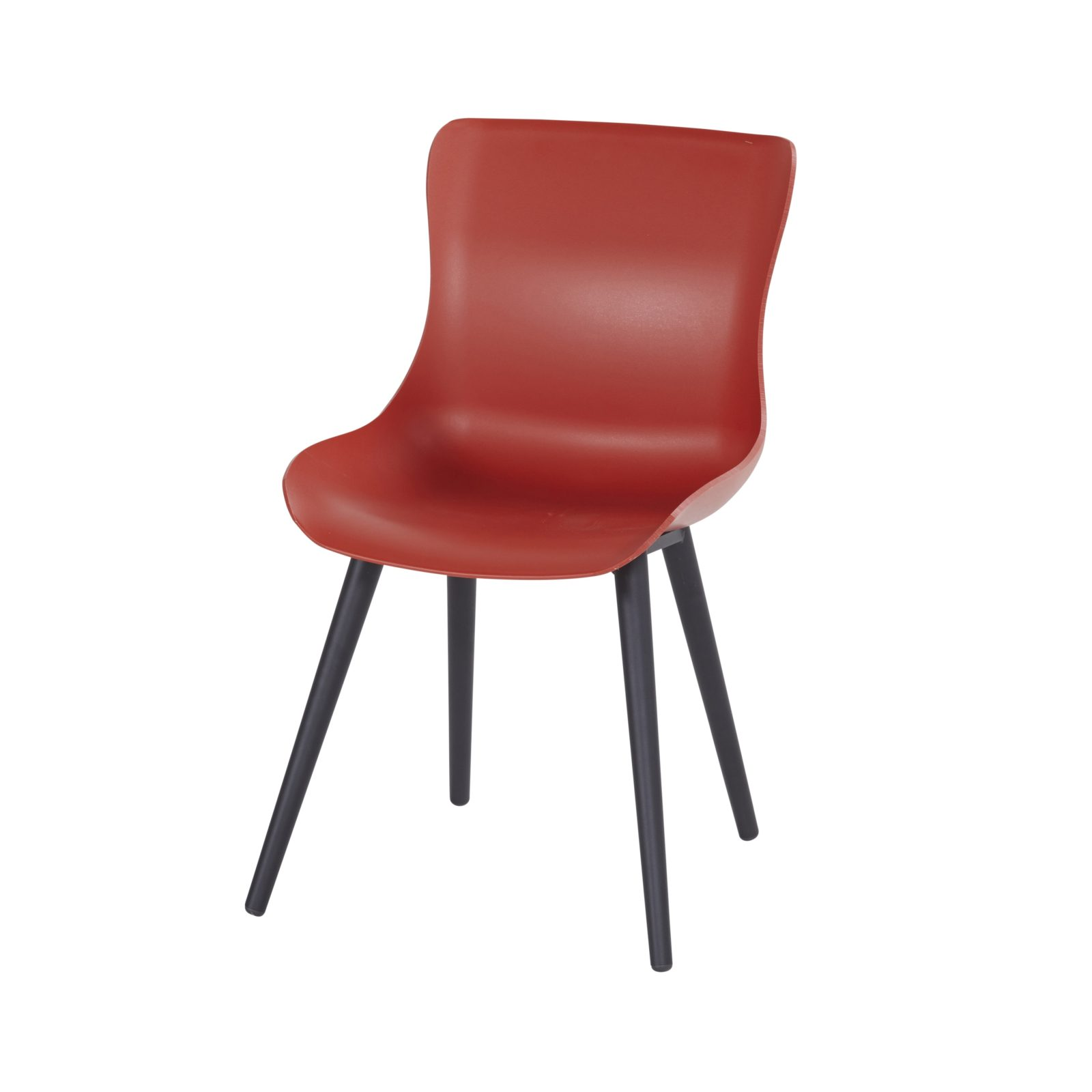Sophie studio spisestol rød/sort