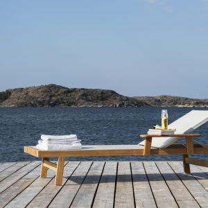 Skargaarden Djurö solseng sjøen