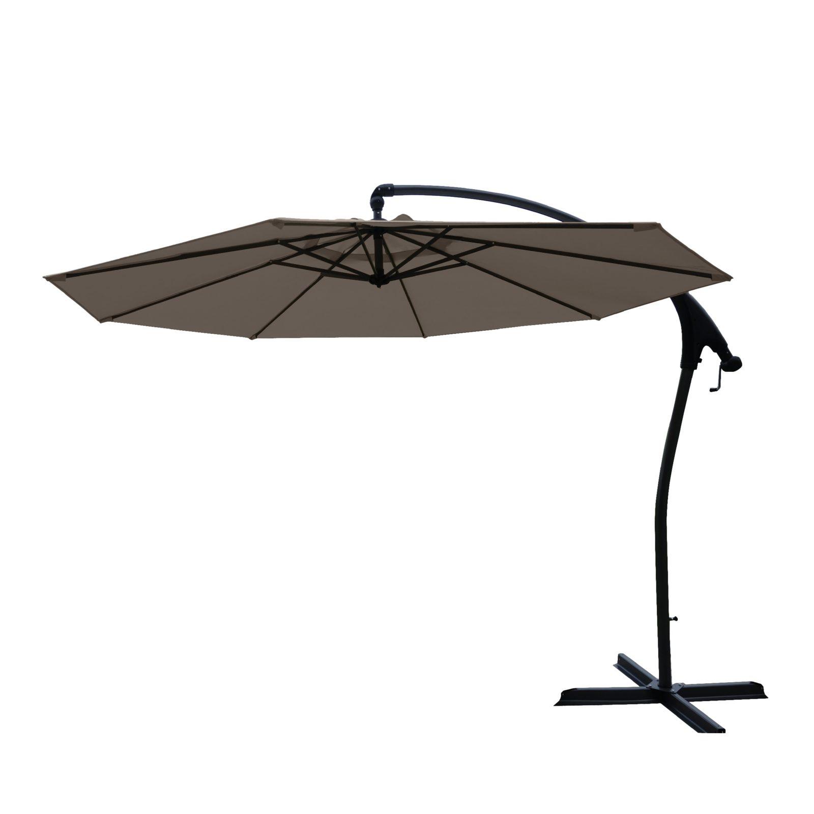Hartman Tenero parasol 300 cm, taupe dug, UPF50+