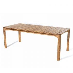 Skargaarden Korsö 200 cm spisebord i teak