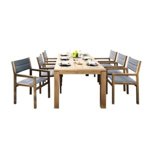 Apple bee Del Mar hagesett teak 6 personer