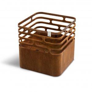 CUBE grillkurv rusty