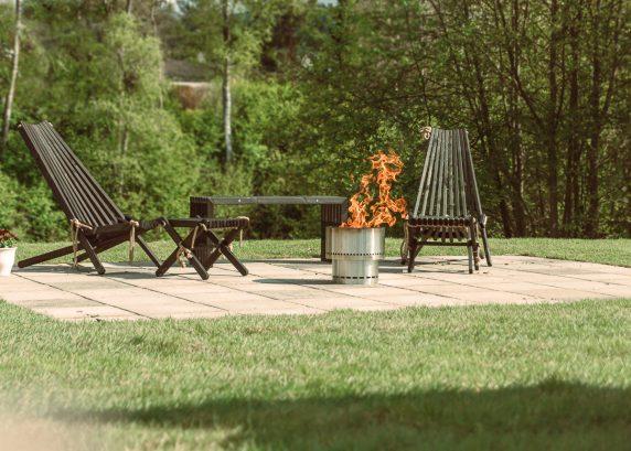 Flammetønna FG16-SS rustfritt stål