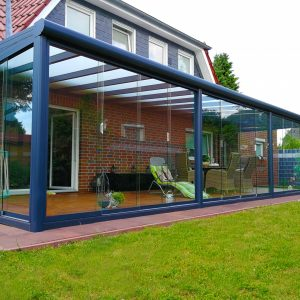 Eksklusivt terrassetak aluminium