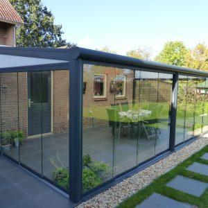 Terrassetak aluminium