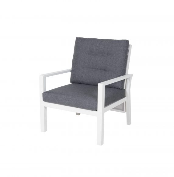 Salina loungestol Royal White