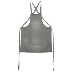 Baristaforkle med bukseseler DutchDeluxes grey