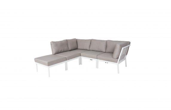 Rinella loungesett i hvit
