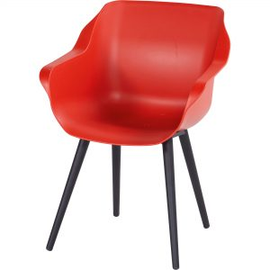Sophie Studio Armchair spisestol rød