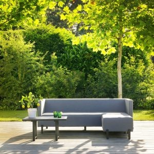 Dion 3-seter loungesofa sort