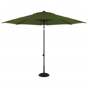 Parasoll Solarline 300 cm grønn duk