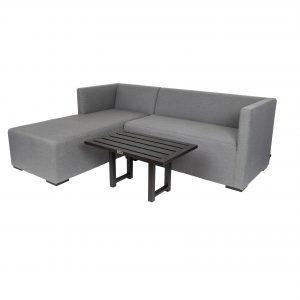 Dylan 2-seter loungesofa grå divan