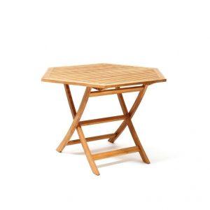 Viken spisebord i teak 110 cm