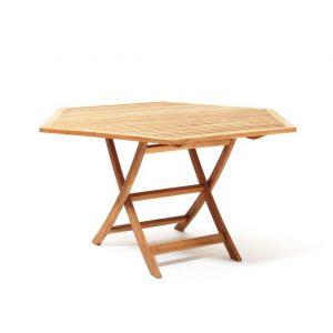 Viken spisebord i teak 140 cm