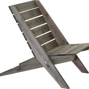 Granny stol furu grå