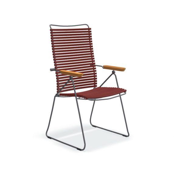 Houe CLICK posisjonsstol med arm i bambus